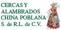 Cercas De Alambre-CERCAS-Y-ALAMBRADOS-CHINA-POBLANA-en-Puebla-encuentralos-en-Sección-Amarilla-SPN