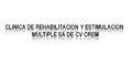 Clínicas De Rehabilitación Física-CLINICA-DE-REHABILITACION-Y-ESTIMULACION-MULTIPLE-SA-DE-CV-CREM-en-Distrito Federal-encuentralos-en-Sección-Amarilla-DIA