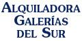 Alquiler De Sillas-ALQUILADORAS-GALERIAS-DEL-SUR-en-Distrito Federal-encuentralos-en-Sección-Amarilla-BRP