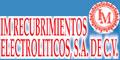 Talleres De Cromado-IM-RECUBRIMIENTOS-ELECTROLITICOS-SA-DE-CV-en-Puebla-encuentralos-en-Sección-Amarilla-PLA