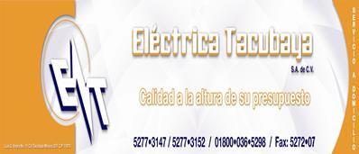 Material Eléctrico-ELECTRICA-TACUBAYA-SA-DE-CV-en-Distrito Federal-encuentralos-en-Sección-Amarilla-PLA