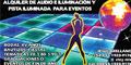Equipos De Sonido-Alquiler De-ALQUILER-DE-AUDIO-E-ILUMINACION-Y-PISTA-ILUMINADA-PARA-EVENTOS-en-Distrito Federal-encuentralos-en-Sección-Amarilla-PLA