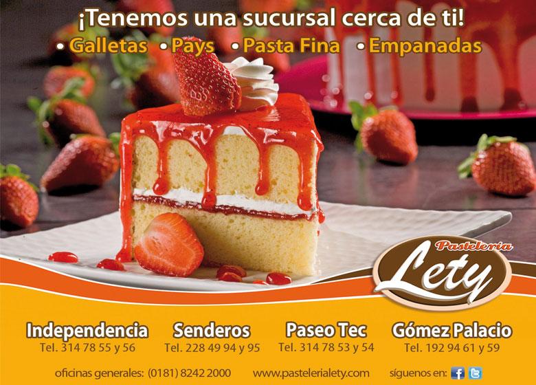 Pasteleria Lety Pastelerías en Coahuila, Torreon, , Navarro,