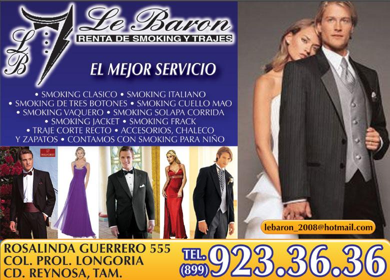 Le Baron Alquiler De Trajes De Etiqueta Y Vestidos En Tamaul