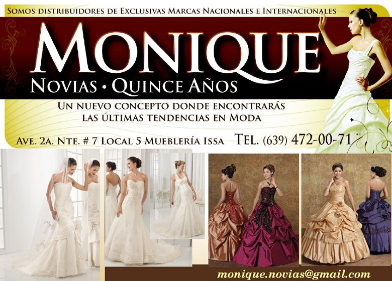 Vestidos de novia monique delicias chihuahua