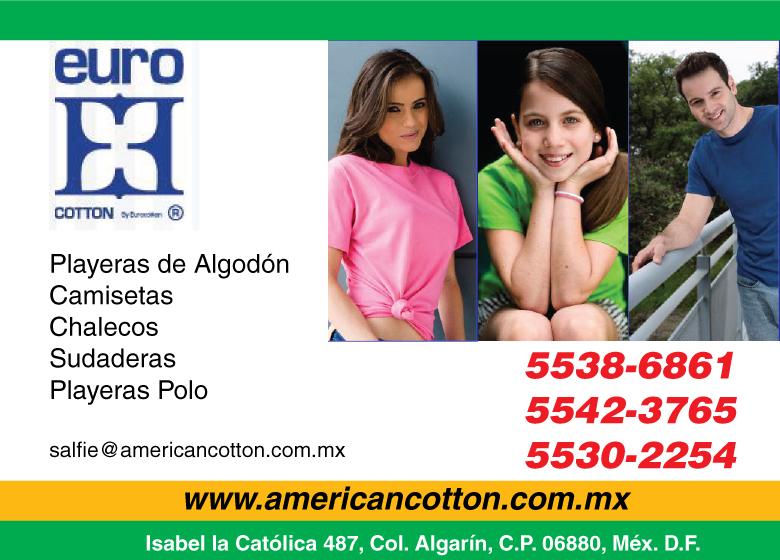 American Cotton Euro Playeras Estampadas en Distrito Federal f1f875be3891e
