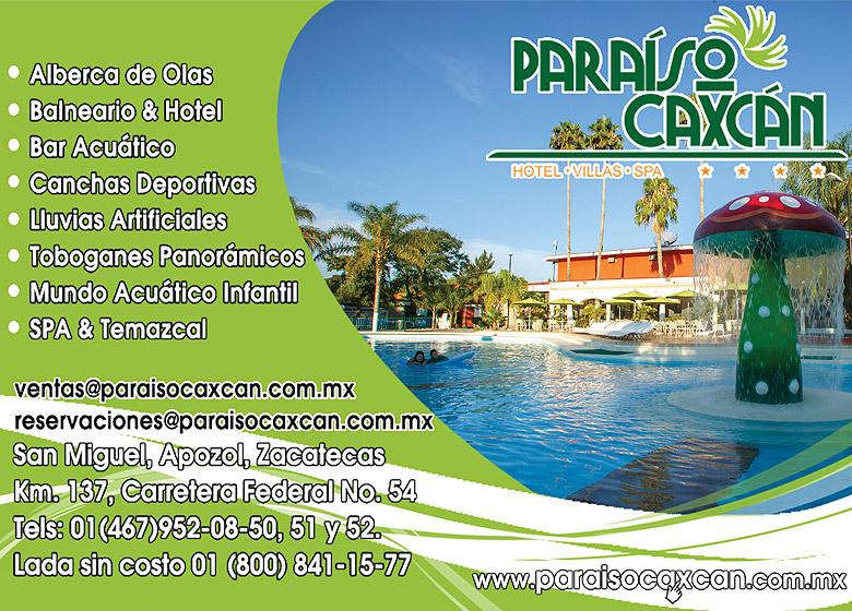 Paraiso Caxcan Hotel Villas Spa Hoteles En Zacatecas Apozol