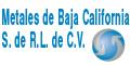 METALES DE BAJA CALIFORNIA S DE RL DE CV