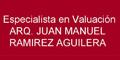 ESPECIALISTA EN VALUACION JUAN MANUEL RAMIREZ AGUILERA