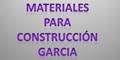 MATERIALES PARA CONSTRUCCION GARCIA