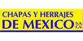 CHAPAS Y HERRAJES DE MEXICO SA DE CV