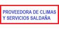 PROVEEDORA DE CLIMAS Y SERVICIOS SALDAÑA SA DE CV