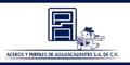 ACEROS Y PERFILES DE AGUASCALIENTES SA DE CV