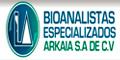 BIOANALISTAS ESPECIALIZADOS ARKAIA SA DE CV