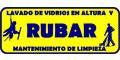 RUBAR LAVADO DE VIDRIOS EN ALTURA Y MANTENIMIENTO DE LIMPIEZA