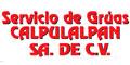 SERVICIO DE GRUAS CALPULALPAN SA DE CV