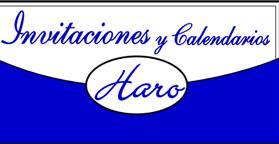 INVITACIONES Y CALENDARIOS HARO