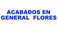 ACABADOS EN GENERAL FLORES